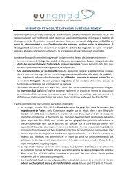 Contribution eunomad Migration et mobilité mai 2011- Final - GRDR