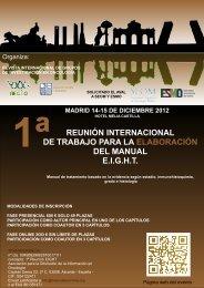 reunión internacional de trabajo para la elaboración del manual eight