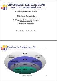 Redes Sem Fio 802.11 - Instituto de Informática - UFG