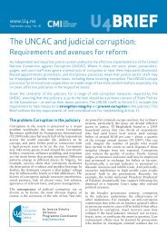 monitor judicial reform efforts - U4 Anti-Corruption Resource Centre