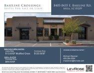 Baseline Crossings 8405-8435 E. Baseline Rd. Baseline Crossings