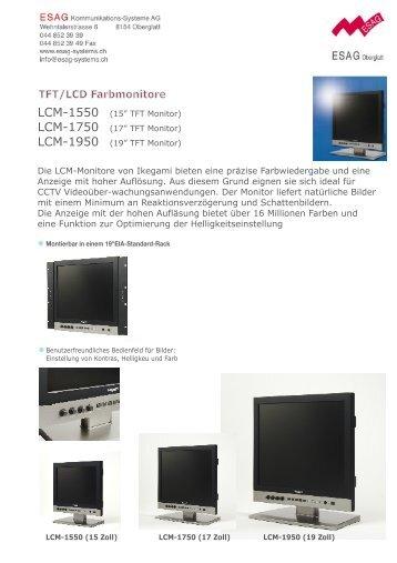 TFT/LCD Farbmonitore - ESAG