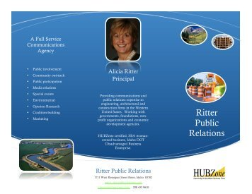 Ritter Public Relations - Idaho Transportation Department
