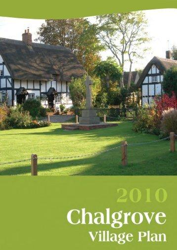 Chalgrove Village Plan - Oxfordshire County Council