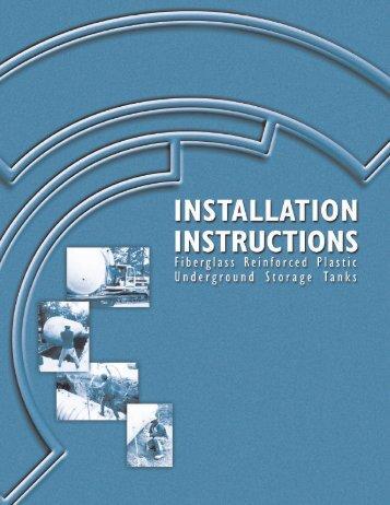 CSI.IM.UST Installation Manual - Earthsafe Systems, Inc.