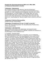 Protokoll, datiert vom 10. März 2008 - Schweizerischer Ganzsachen ...