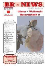 Ausgabe 56 (Dezember 2008) - Betriebsrat LKH Villach