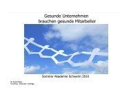 Dr. Kirsti Peters - Vortrag Sommer Akademie Schwerin 2010 PDF