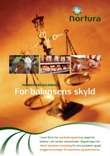 for balansens skyld - Nortura