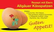Interessiert an leckeren Rezepten rund um das Ei - Eierhof Hennes