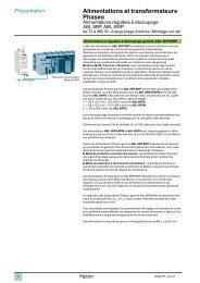 Alimentations et transformateurs Phaseo 1 2 3 4 5 6 7 ... - e-Catalogue