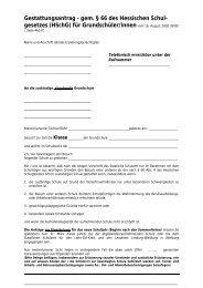 Gestattungsantrag Grundschulen - Lahn-Dill-Kreis