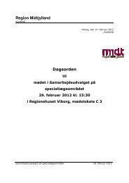 Dagsorden til møde i Samarbejdsudvalget for speciallæger 29-02 ...