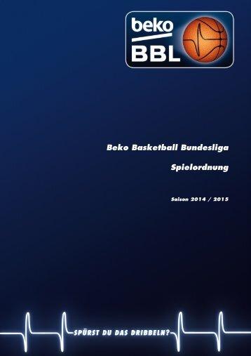 Beko BBL-Spielordnung 2014-2015