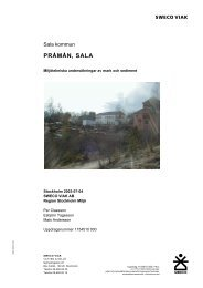 Undersökningsrapport 2003 - Sala kommun