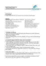 Styrelsemöte - Nordicenergyperspectives.org