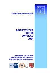 Laudatio Auszeichnungsveranstaltung - Bauconsulting Pippig