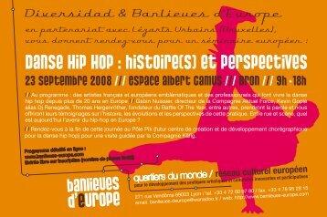 Danse Hip Hop : histoire(s) et perspectives - European Music Office