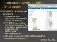 Incorporar nuevos países a GEOLocate - Gbif.es