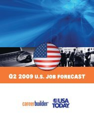 Q2 2009 US Job Forecast - Icbdr