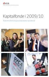 Kapitalfonde i 2009/10 - Ã…rsskrift fra DVCA om