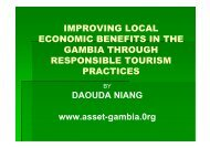 IMPROVING LOCAL ECONOMIC BENEFITS IN ... - Harold Goodwin