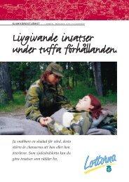 """K†R-008 Blad Sjukv""""rd - Svenska Lottakåren"""