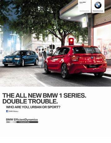 bmw serie 1 (5 puertas). Manual de 6 velocidades . 17.2 km/lt