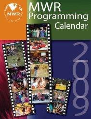 Programming Calendar - MWR Fort Leonard Wood