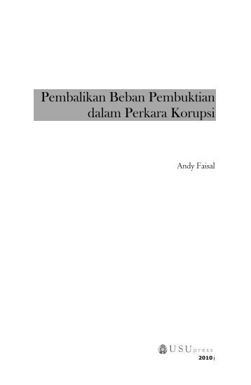 Bagian Awal - USUpress - Universitas Sumatera Utara