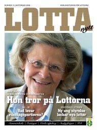 Hon tror på Lottorna - Svenska Lottakåren