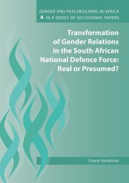 Transformation of Gender Relations in the South African ... - Fahamu