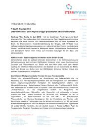 FI South America 2013 Unternehmen der Stern-Wywiol Gruppe ...