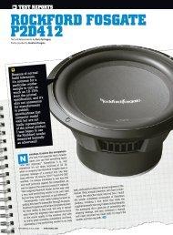 ROCKFORD FOSGATE P2D412 - AZ Trading