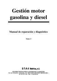 SUMARIO Gestión motor GASOLINA y DIESEL