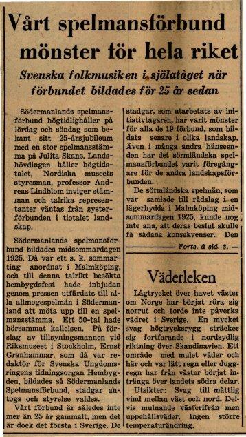 1950-06-27 Vårt spelmansförbund ett mönster för hela riket