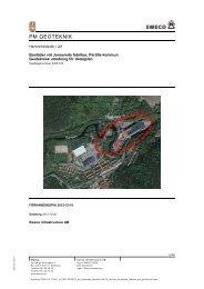 Geoteknisk undersökning - Partille kommun