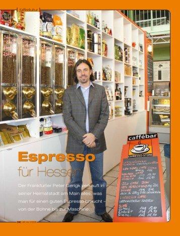 Espresso für Hessen - Espresso-Store