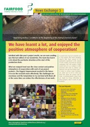 Newsletter 5 - Fairfood International
