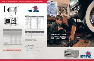 WITH A HOT DAWG.® - Protech Plumbing Inc.