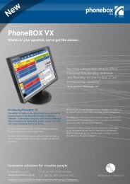 PhoneBOX VX - Broadcast Bionics