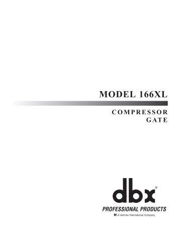 MODEL 166XL - EBI audio