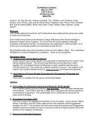 May 25 - Outreach & International Affairs - Virginia Tech