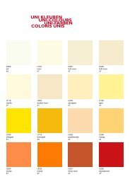 uni kleuren uni-colours uni-farben coloris unis - Hotel Designs
