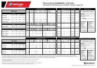 Mercury Diesel STERNDRIVE / Z-Antriebe