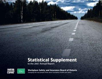 Statistical Supplement - wsib