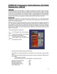 Compression Testing Machine - Global Hand