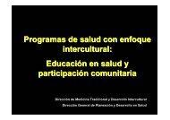 modelo educativo intercultural - Dirección General de Planeación y ...