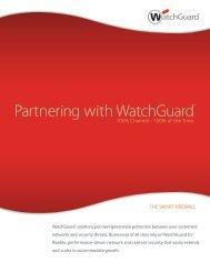 Partnering with WatchGuard® - WatchGuard Technologies