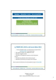 Présentation du 2ème plan maladies rares 2011 ... - ARS Limousin
